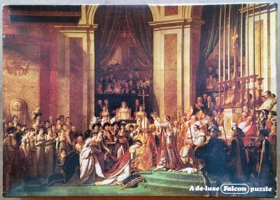 Image of the puzzle 1500, Falcon, The Coronation of Napoleon, by Jacques-Louis David, Sealed Bag, Picture of the box