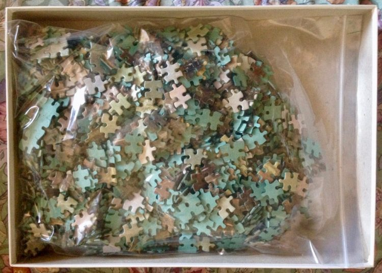 Image of the Puzzle 1500, Hestair, Dedham Mill, Complete, Picture of the Bag