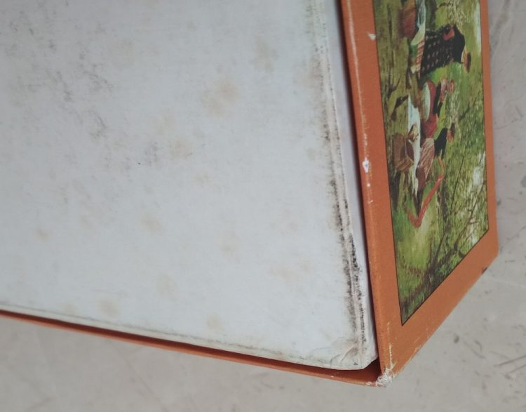 Image of the puzzle 3000, Educa, The Washerwomen, by Joaquim Vayreda, Sealed Bag, Picture of the corner