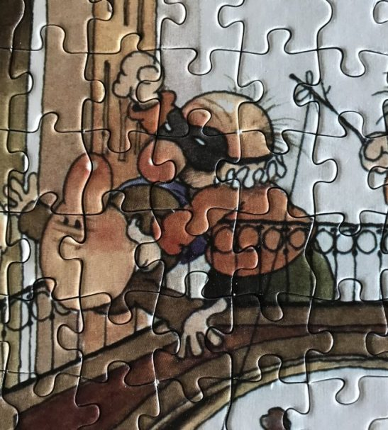Image of the puzzle 1000, Heye, Canale Grande, by Jean-Jacques Loup, Complete, Detail