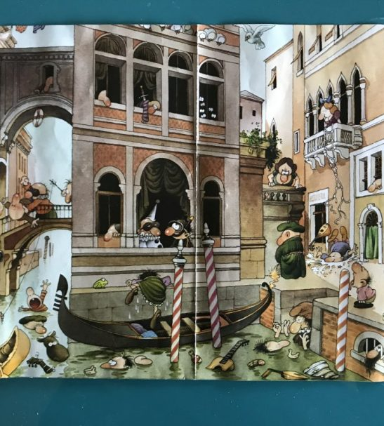 Image of the puzzle 1000, Heye, Canale Grande, by Jean-Jacques Loup, Complete, Picture of the poster