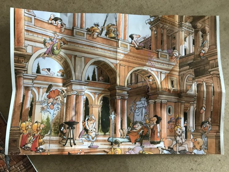 Image of the puzzle 750, Heye, Caesars Palace, Complete, picture of the poster