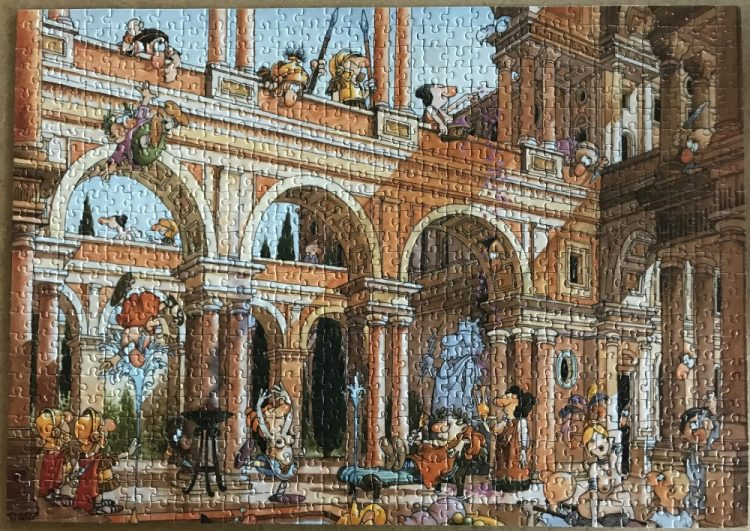 Image of the puzzle 750, Heye, Caesars Palace, Complete, picture of the puzzle assembled