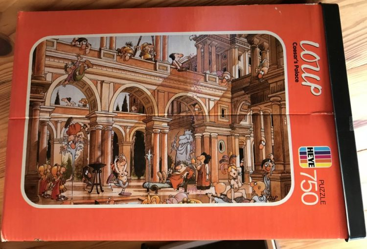 Image of the puzzle 750, Heye, Caesars Palace, Complete, picture of the box