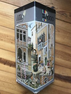 Image of the puzzle 1000, Heye, Canale Grande, by Jean-Jacques Loup, Complete, Picture of the box