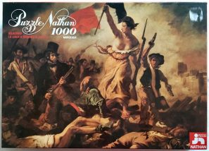 Image of the puzzle 1000, Nathan, Liberty Leading the People, Complete, picture of the box