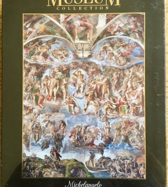 Image of the puzzle 1000, Clementoni, Universal Judgement, Michelangelo, Factory Sealed