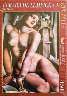 Image of the Puzzle 1500, Ricordi, The Slave, Factory Sealed, 1500RIC20180315