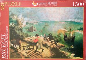 Image of the Puzzle 1000, Ricordi, Landscape with the Fall of Icarus, Pieter Brueghel the Elder