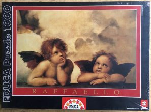 Image of the Puzzle 1000, Educa, Cherubini, Factory Sealed