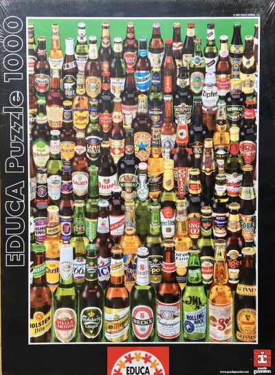 Image of the Puzzle 1000, Educa, Beers, Factory Sealed