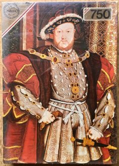 750, Falcon, Portrait of Henry VIII, by Hans Holbein the Younger, Factory Sealed