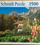 Image of the Puzzle 1500, Schmidt, Alps in Spring, by R. Kirsch, Factory Sealed