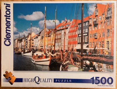Image of the puzzle 1500, Clementoni, Copenhagen, Factory Sealed
