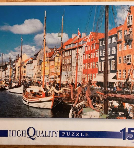 Image of the puzzle 1500, Clementoni, Copenhagen, Factory Sealed