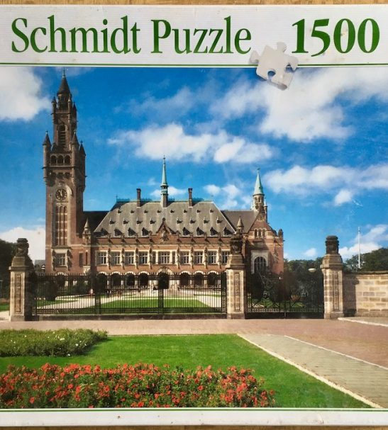 Image of the Puzzle 1500, Schmidt, The Hague, International Court of Justice, by Klaus Kerth, Factory Sealed