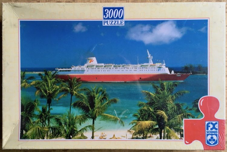Image of the puzzle 3000, F.X. Schmid, Dream Boat Atlantic, Factory Sealed