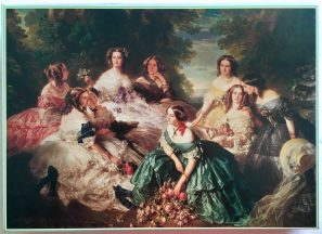 Image of the puzzle 2000, Sunbird, The Empress Eugenie Surrounded by her Ladies in Waiting, by Franz Xavier Winterhalter, Sealed Bag, Picture of the box