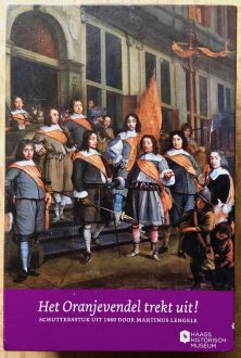 Image of the puzzle 1000, Haags, The Officers of the Orange Banner in the Hague, Martinus Lengele, Picture of the box
