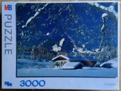 Image of the puzzle 3000, MB, Snow House, by R. Kirsch, Sealed Bag