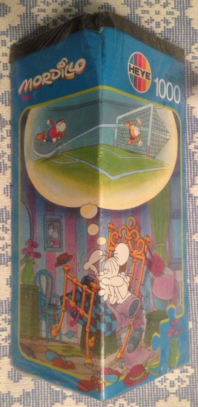 Image of the puzzle 1500, Heye, Goal, Guillermo Mordillo, Factory Sealed