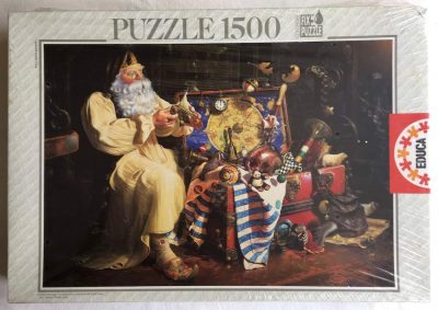 Image of the puzzle 1500, Educa, The Trunk of Dreams, Dean Morrissey, Factory Sealed, Picture of the box