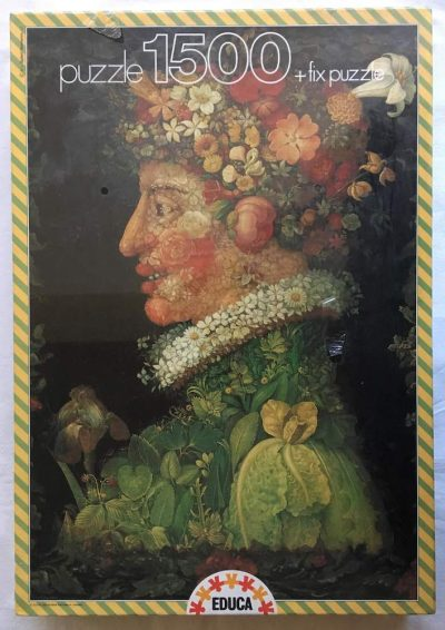Image of the puzzle 1500, Educa, Spring, Giuseppe Arcimboldo, Factory Sealed, Listed by Jorge