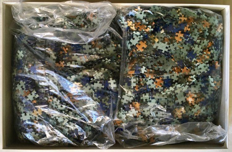 Image of the puzzle 6000, Piatnik, Chain Bridge, Budapest, Sealed Bag, Picture of the bag