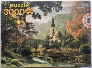 Image of the puzzle 3000, Educa, Ramsau, Bavaria, Sealed Bag, Picture of the box