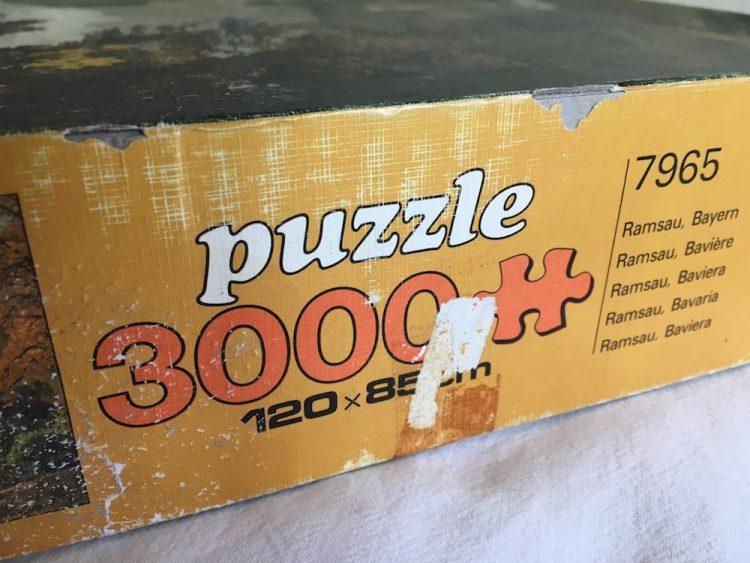 Image of the puzzle 3000, Educa, Ramsau, Bavaria, Sealed Bag, Detail of the side