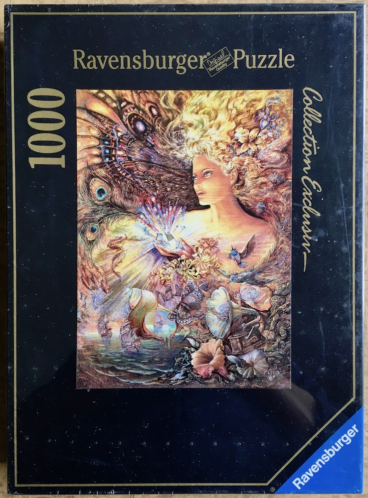 Image of the puzzle 1000, Ravensburger, Crystal of Enchantment, Josephine Wall, Factory Sealed