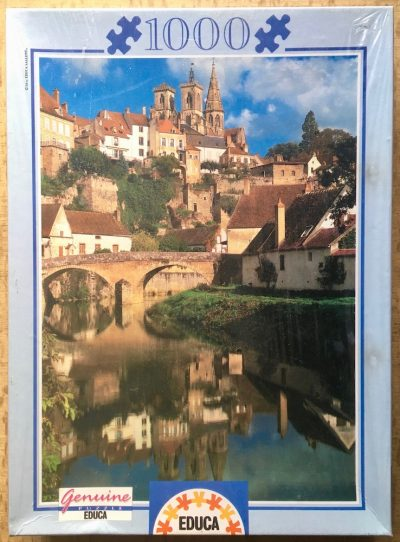 Image of the puzzle 1000, Educa, Semur-en-Auxois, France, Factory Sealed
