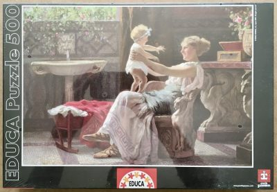 Image of the puzzle 500, Educa, Mothers Darling, Factory Sealed