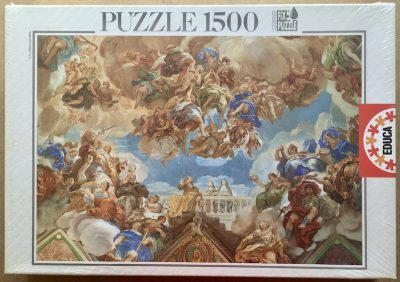 Image of the puzzle 1500, Educa, Trionfo degli Asburgo, by Luca Giordano, Factory Sealed