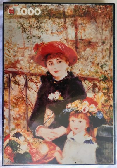 Image of the puzzle 1500, Jumbo, On the Terrace, Pierre-Auguste Renoir, Factory Sealed