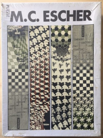 Image of the puzzle 3000, Selegiochi, Metamorphose, M. C. Escher, Factory Sealed