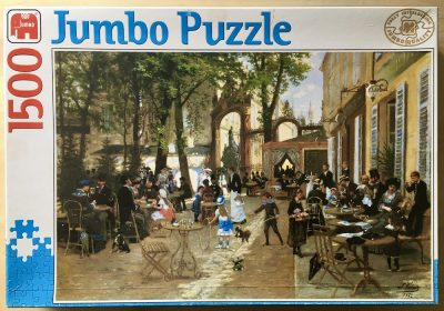 Image of the puzzle 1500, Jumbo, Stanislas Place at Nancy, by Leon Voirin, Complete, Picture of the box