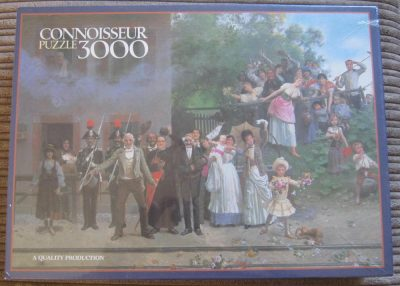 Image of the puzzle 3000, Arrow, Passing of the King, Giacomo Mantegazza, Factory Sealed, Picture of the box