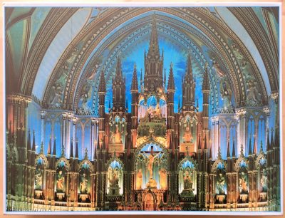 Image of the puzzle 3000, Sunbird, Notre-Dame de Montreal (Canada), Sealed Bag, Picture of the box