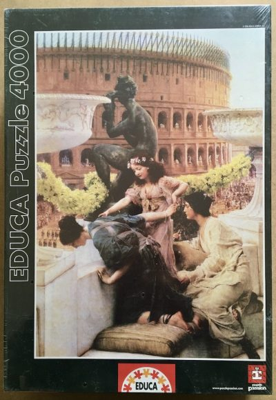 Image of the puzzle 4000, Educa, The Colosseum, by Sir Lawrence Alma-Tadema, Factory Sealed