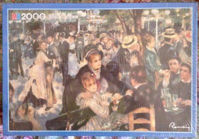 Image of the puzzle 2000, MB, Le Moulin de la Galette, Pierre-Auguste Renoir, Factory Sealed