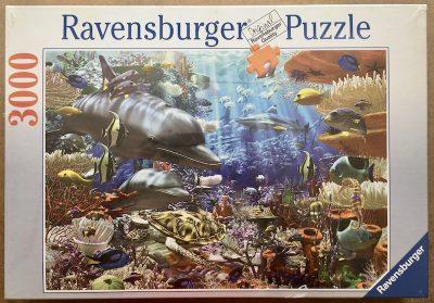 Image of the puzzle 3000, Ravensburger, Oceanic Wonders, Factory Sealed