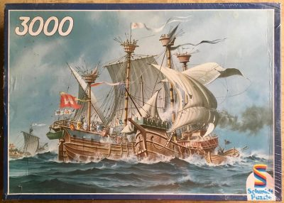 Image of the puzzle 3000, Schmidt, Sea Battle, Factory Sealed