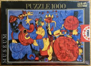 Image of the puzzle 1000, Educa, Ubu Roi, Joan Miró, Factory Sealed