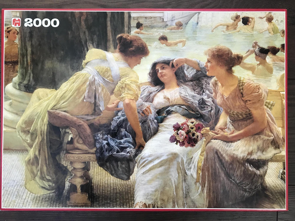 Lawrence Alma-Tadema Spring 1000-Piece Jigsaw Puzzle