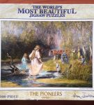 Image of the puzzle 1000, Crown & Andrews, Playing in the Creek, by Almar Zaadstra, Complete, Picture of the box