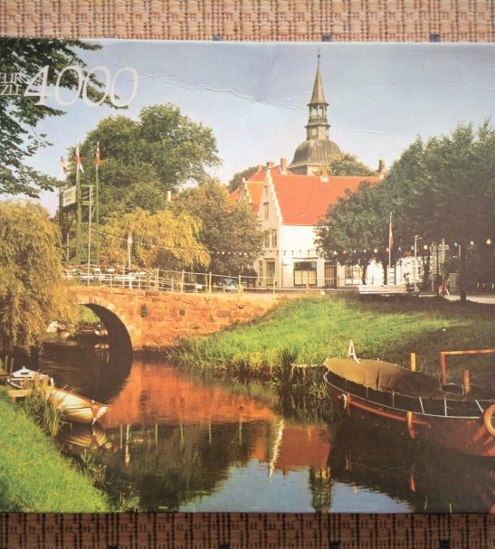 Image of the puzzle 4000, Arrow, Schleswig Holstein, Germany, Sealed Bag, Picture of the box
