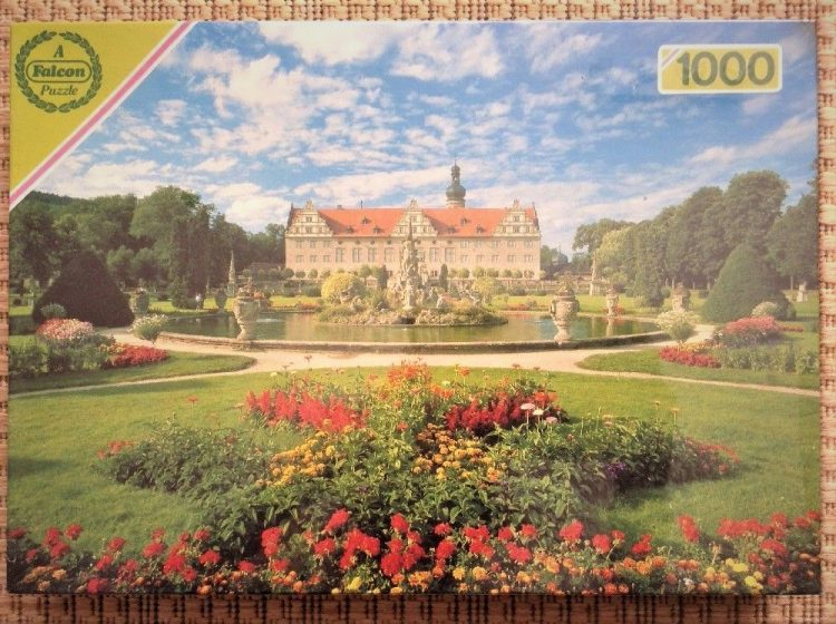 Image of the puzzle 1000, Falcon, Bavarian Castle, Listed by Cathy