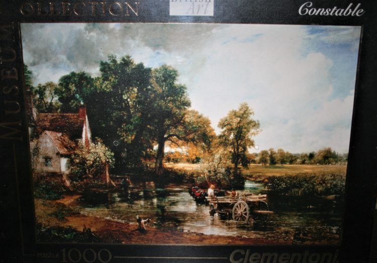 Image of the puzzle 1000, Clementoni, The Hay Wain, John Constable