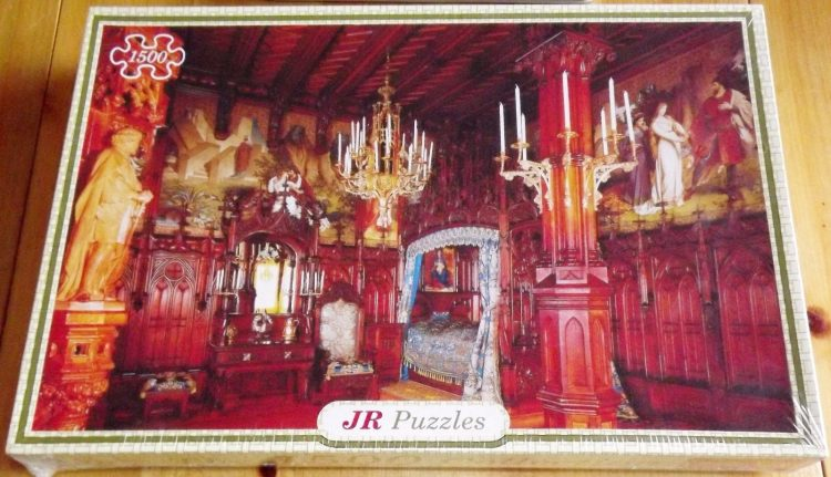 1500, JR Puzzles, Neuschwanstein Castle (Interior), Factory Sealed, Listed by Cathy